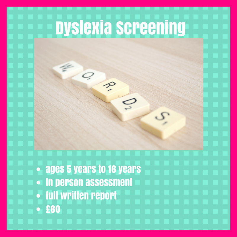 Dyslexia & Visual Stress Screening Manchester
