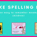 How to help your child  with spelling.