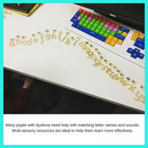 alphabet arc to help dyslexic pupils