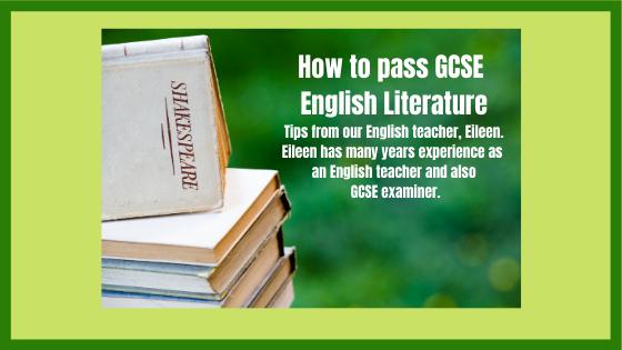 How to pass GCSE English Literature
